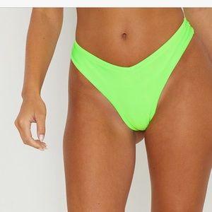 V Front Brazilian Bikini Bottom